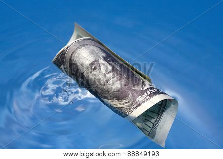 Sinking Usa Currency