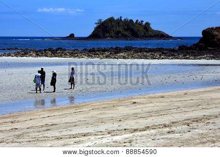 People In Andilana Beach Nosy Be