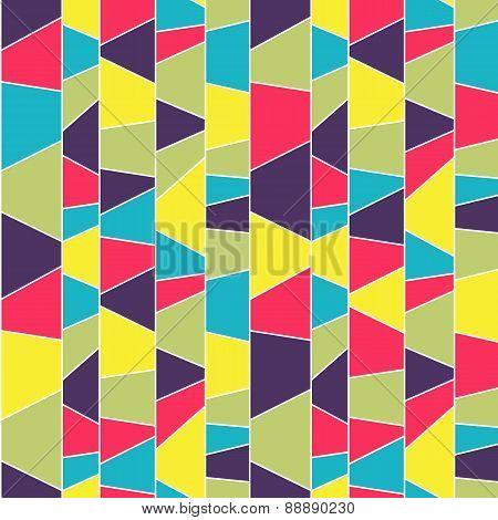 Abstract Mosaic Pattern. Seamless.