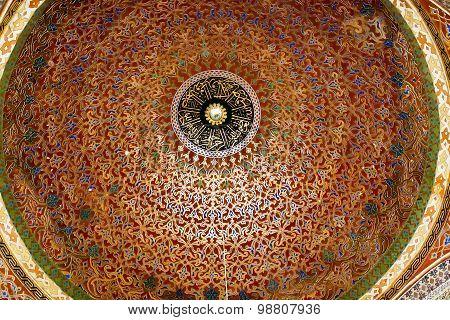 ISTANBUL - NOVEMBER 5: Topkapi palace - Harem, Privy Chamber of Murat III on November 5, 2014 in Ist