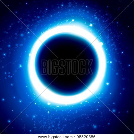 Black Hole in Outer Space. Distant Galaxy