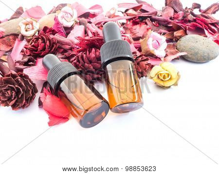 Dropper Bottle With Red Potpourri
