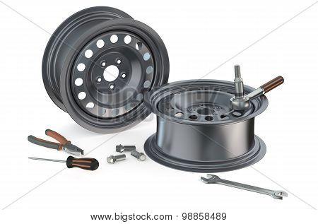 Auto Repair And Service Concept