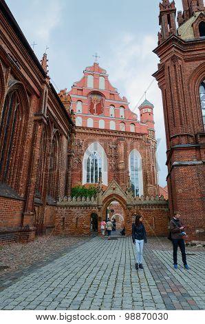 Catholic Church Of St. Anne's And Catholic Church Of Bernardine, Vilnius