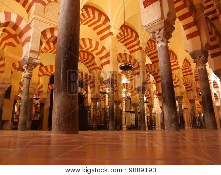 The Mezquita Cathedral in Cordoba - Spain poster