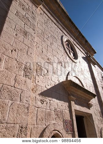 Muhraqa Monastery On Mount Carmel L In The Place Of The Prophet Elijah Fight With The Prophets Boal