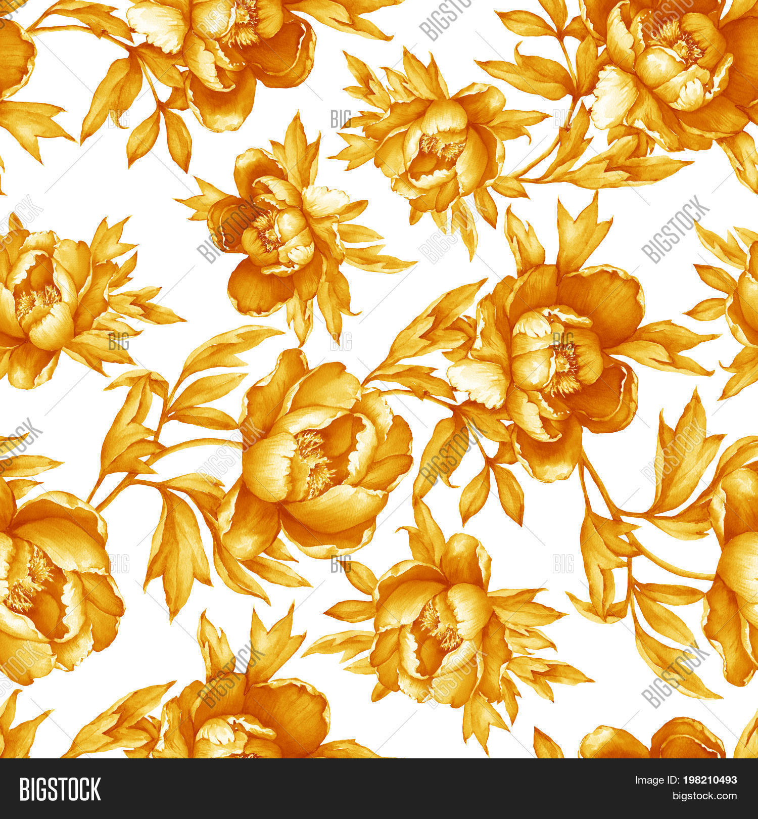 Vintage Floral Image Photo Free Trial Bigstock