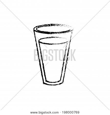 figure fesh and delicious natural milk vector illustration