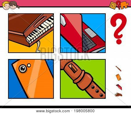 Guess Objects Cartoon Game For Children