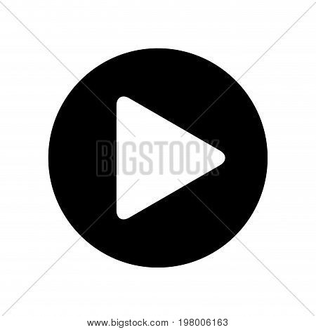 play button isolated icon vector illustration design