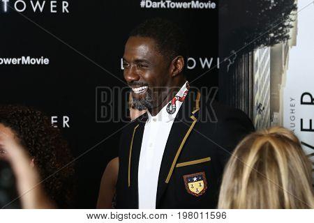 NEW YORK-JUL 31: Idris Elba attends the special screening of