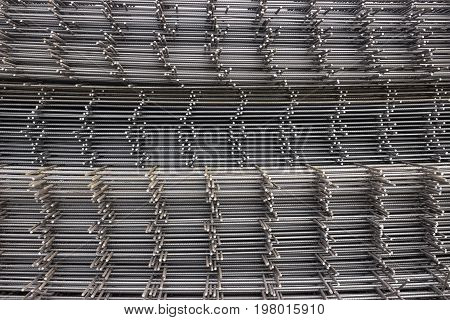 Reinforcement Steel Mesh Background 2