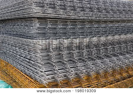 Welded Iron Mesh Panels For Reinforced Concrete Background 2