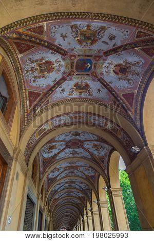 Arcades of Bologna Emilia Romagna Italy picture