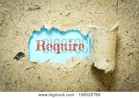 Text Require on paper blue has Mulberry paper background you can apply to your product.