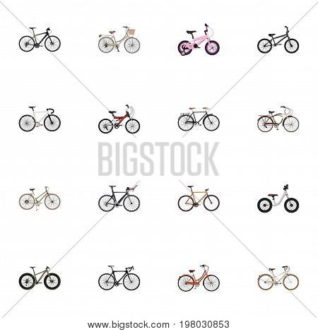 Realistic Equilibrium, For Girl, Adolescent And Other Vector Elements