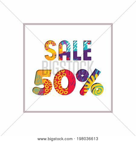 Sale 50% Off Color Quote For Business Discount