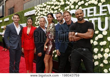 LOS ANGELES - AUG 1:  SWAT Cast, Shemar Moore at the CBS TV Studios Summer Soiree TCA Party 2017 at the CBS Studio Center on August 1, 2017 in Studio City, CA