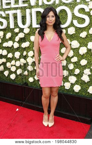 LOS ANGELES - AUG 1:  Liza Lapira at the CBS TV Studios Summer Soiree TCA Party 2017 at the CBS Studio Center on August 1, 2017 in Studio City, CA