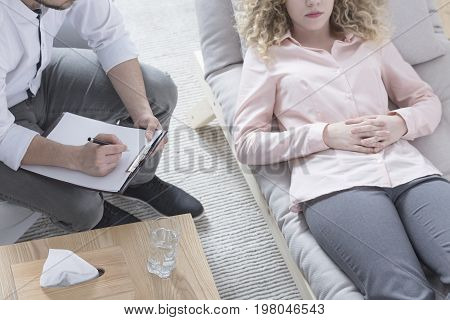 Woman In Hypnosis