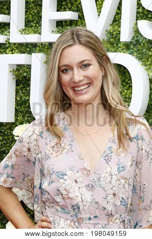 LOS ANGELES - AUG 1:  Zoe Perry at the CBS TV Studios Summer Soiree TCA Party 2017 at the CBS Studio Center on August 1, 2017 in Studio City, CA