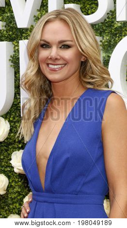LOS ANGELES - AUG 1:  Laura Bell Bundy at the CBS TV Studios Summer Soiree TCA Party 2017 at the CBS Studio Center on August 1, 2017 in Studio City, CA