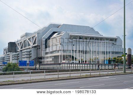 The   International Congress Center (icc)  In Berlin