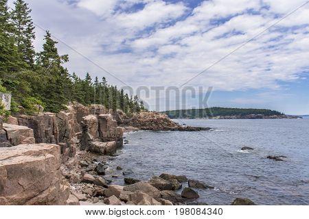 Acadia National Park - Ocean Path