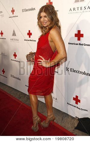 LOS ANGELES - APR 9:  Fergie aka Stacy Ferguson arriving at the 2011 American Red Cross Santa Monica Chapter's Annual Red Tie Affair at Fairmont Miramar Hotel on April 9, 2011 in Los Angeles, CA
