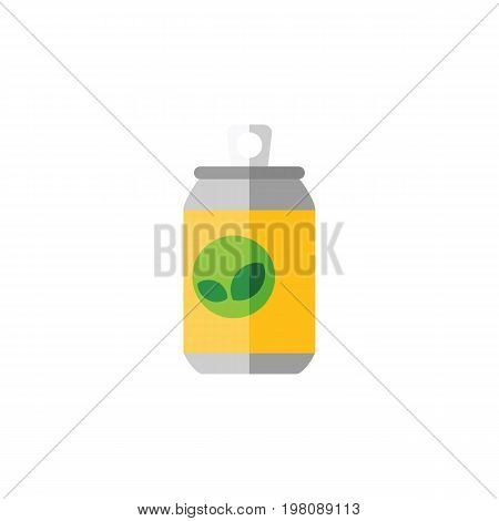 Beverage Vector Element Can Be Used For Drink, Beverage, Fizzy Design Concept.  Isolated Drink Flat Icon.