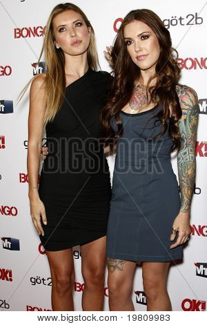 LOS ANGELES - APR 14:  Audrina Patridge (L) and Casey Patridge arrive at the OK magazine 'Sexy Singles Party'  at The Lexington Social House on April 14, 2011 in Los Angeles, CA.