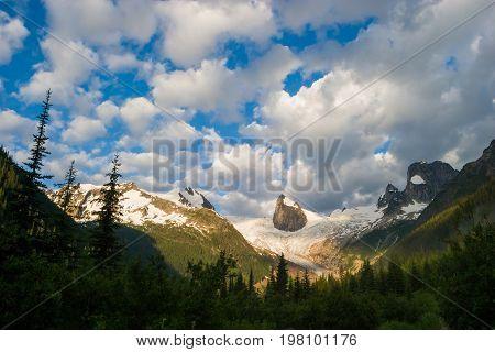 Bugaboo Provincial Park in British Columbia, Canada