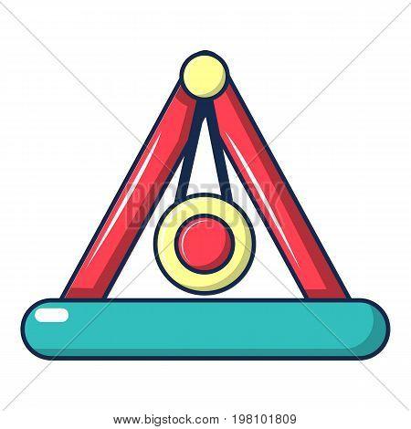 Attraction pendulum icon. Cartoon illustration of attraction pendulum vector icon for web design
