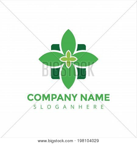 logo, medical logo, clinic logo, modern logo, elegant logo, hospital logo,nature medical logo, medical center logo, natural, nature, nature logo