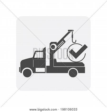 Car Diagnostics Icon Tow Truck Vector Photo Bigstock