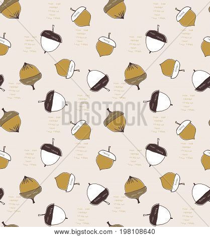 Abstract seamless pattern. Part of Christmas collection of illustrations. Can be used for wallpaper, packaging and stationery, surface textures, scrapbooking, fabric prints.