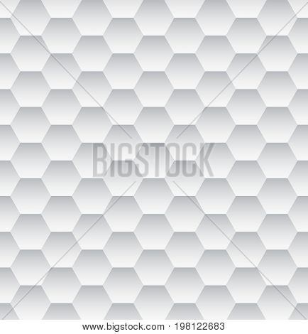 Monochrome Abstract Hexagon Texture. Hexagon pattern background. Vector illustration