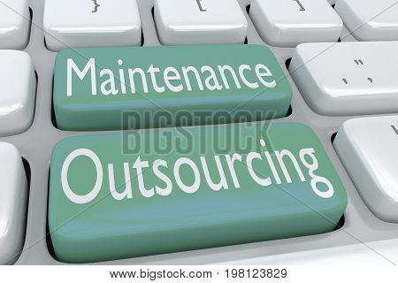 Maintenance Outsourcing Concept