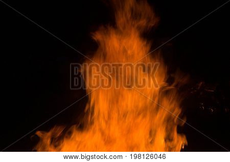 real fire flame render, bonfire campfire\ camp fire hot orange flame.
