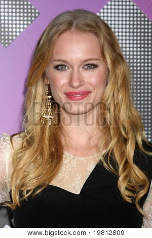 LOS ANGELES - APR 20:  Leven Rambin arriving at the Launch Of The New T-Mobile Sidekick 4G  at Old Robinson/May Building on April 20, 2011 in Beverly Hills, CA..