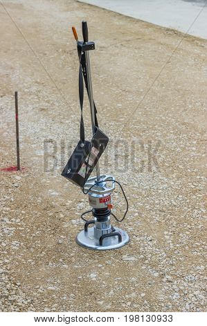 Tool For Testing Soil Compaction