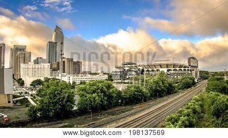 charlotte city of north carolina city skyline