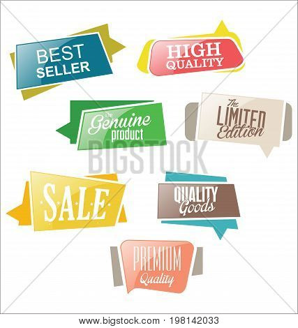Abstract Modern Vector Label Collection 04.eps