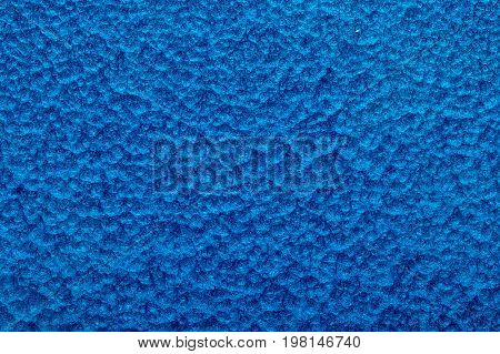 blue hammered metal background abstract metallic texture sheet of metal surface painted with hammer paint