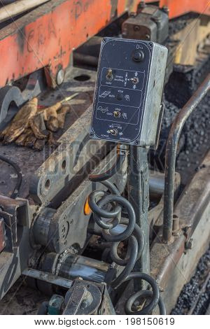 Control Panel Of Asphalt Paving Machine 2