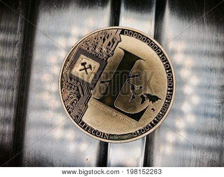 Dirty Old Gold Iltecoin Coin