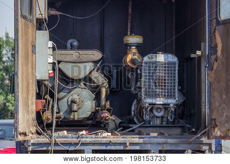 Mobile Generator Truck Mounted 2
