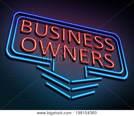 Business Owners Concept.