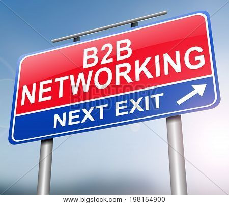 2B2 Networking Concept.