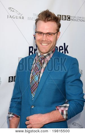 LOS ANGELES - APR 26:  Daniel Bedingfield arriving at the 5th Annual BritWeek Launch Party at British Consul General's residence on April 26, 2011 in Los Angeles, CA..